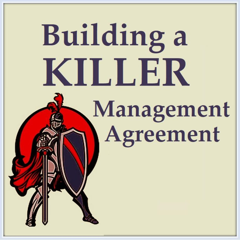 Building a Killer Management Agreement Property Management Training Monica Gilroy