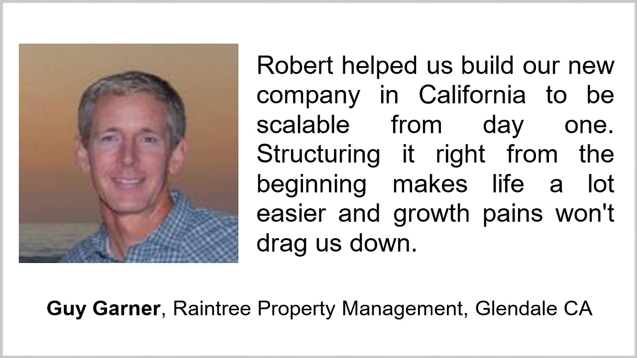 Guy Garner Raintree Property Management Glendale CA San Diego