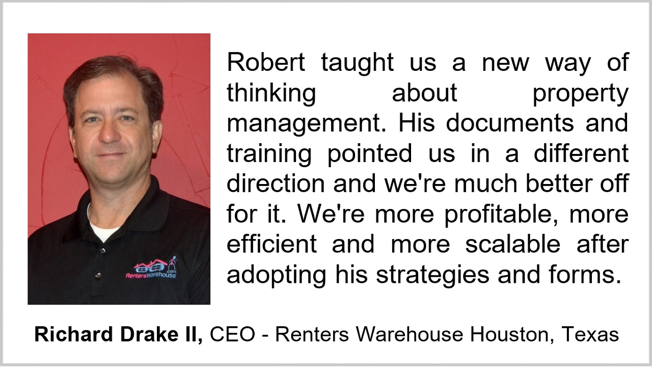 Richard Rich Drake II CEO Renters Warehouse Houston Texas