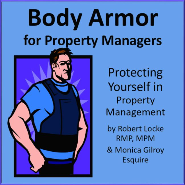 Body Armor Series Monica Gilroy Robert Locke MPM NARPM Training Property Managers