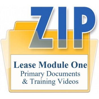Module One Customized Lease Agreement Training Property Managers