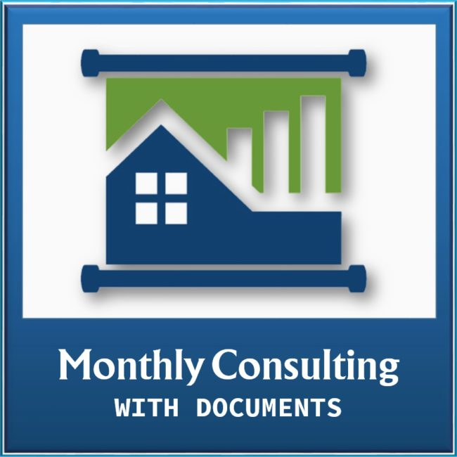 Property Management Monthly Consulting with Document