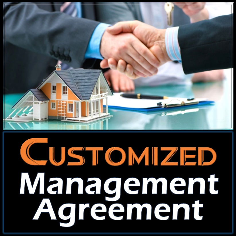 Customized Management Agreement Training Property Managers Robert M Locke Crown
