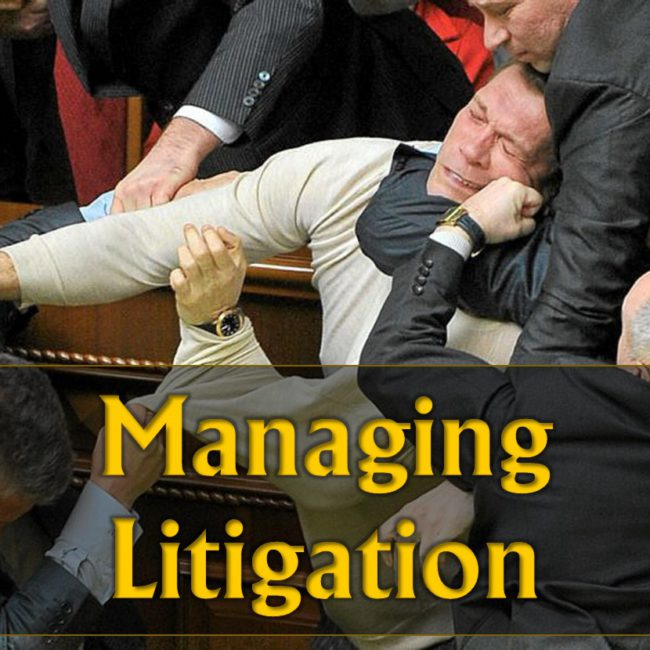 Managing Litigation Breakout Live Video Training Property Managers Robert Locke Monica Gilroy
