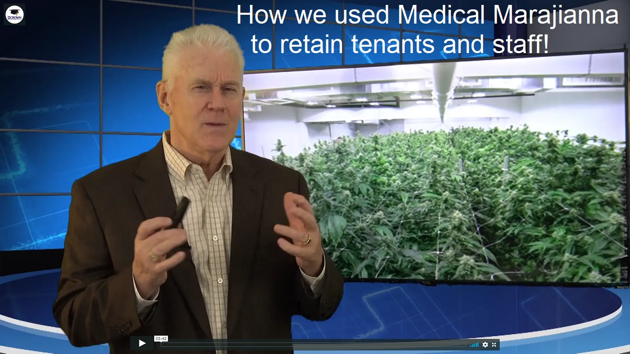 How we used medical marijuana to retain tenants and staff