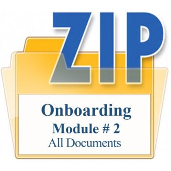 Onboarding Module # 2 All Documents Training Property Managers