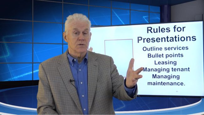 Onboarding Video 06 Rules for the Presentation