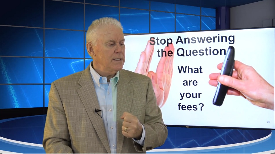 Onboarding Videos 04 Stop answering the question what are your fees