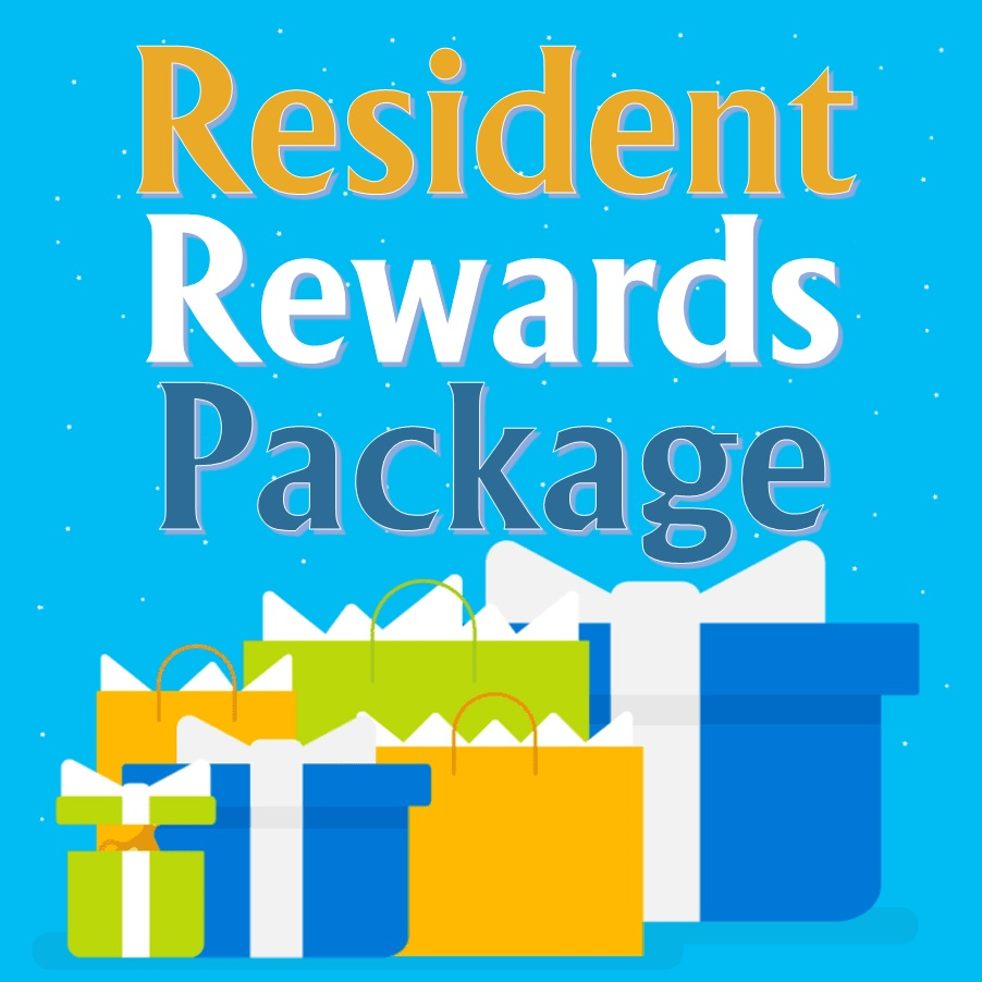 Resident Rewards Package