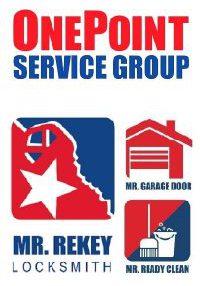 Mr Rekey CEO Ken Jennings OnePoint Service Goup Mr Garage Door Paint Clean